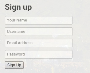 signup