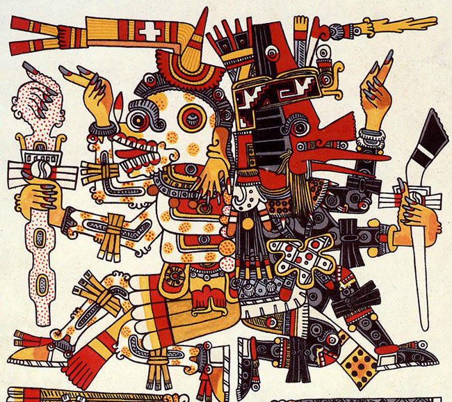 Quetzalcoatl and Xolotl