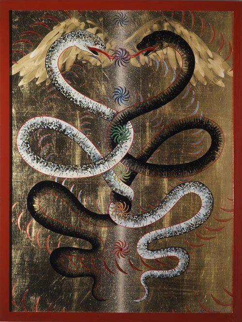 Sacred snake serpent rising milf - 4 9
